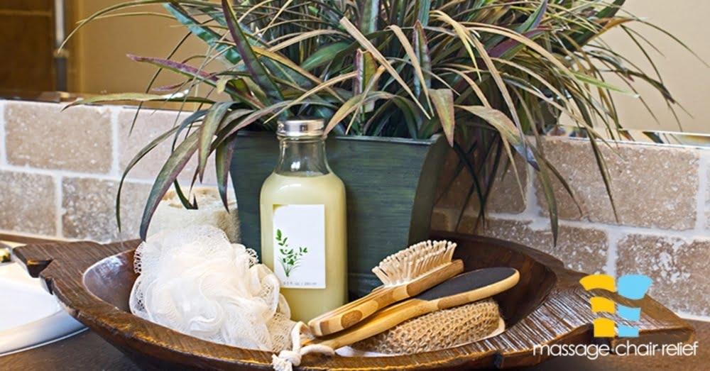 scrub, brush, and liquid soap