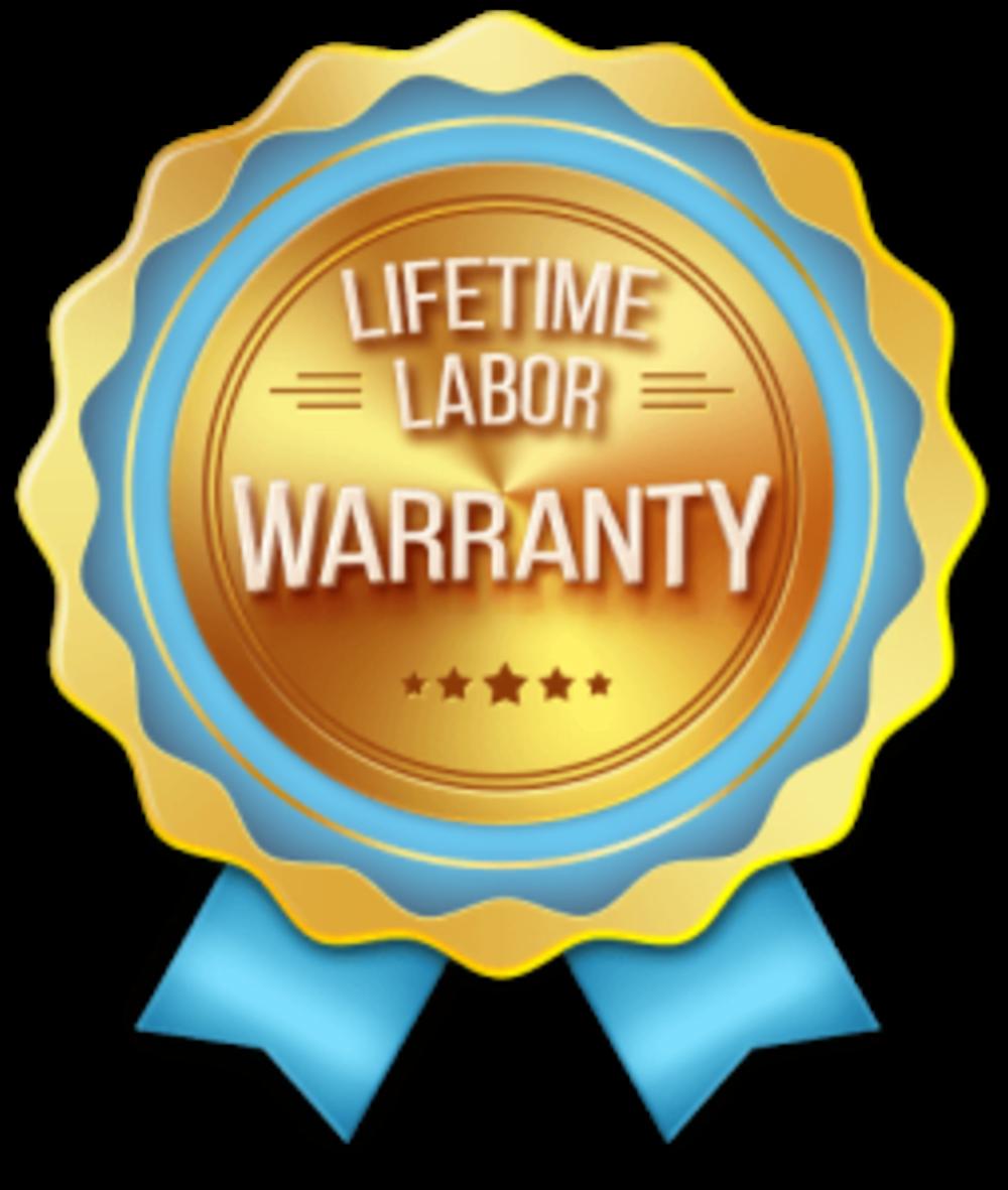 Lifetime labor warrantly