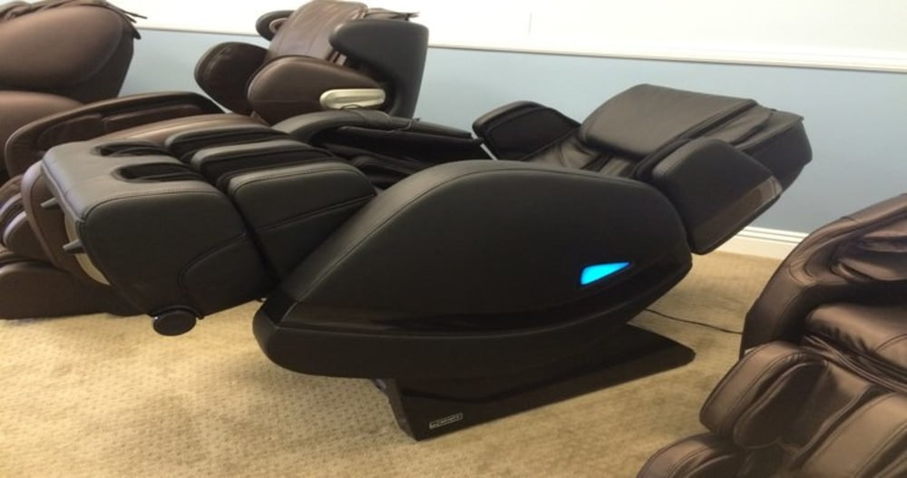 Massage chair stretch programs