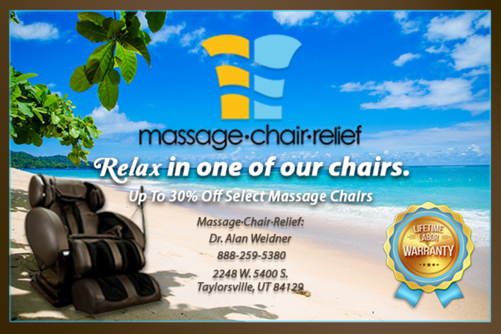 Massage Chair Relief poster