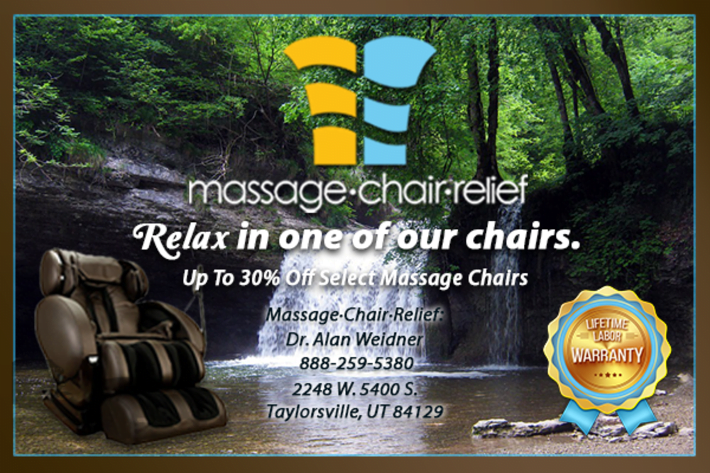 Massage Chair Relief ad