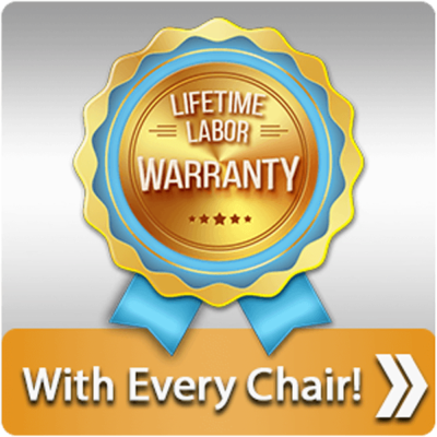 Advantage: Massage Chair Relief - lifetime labor warranty