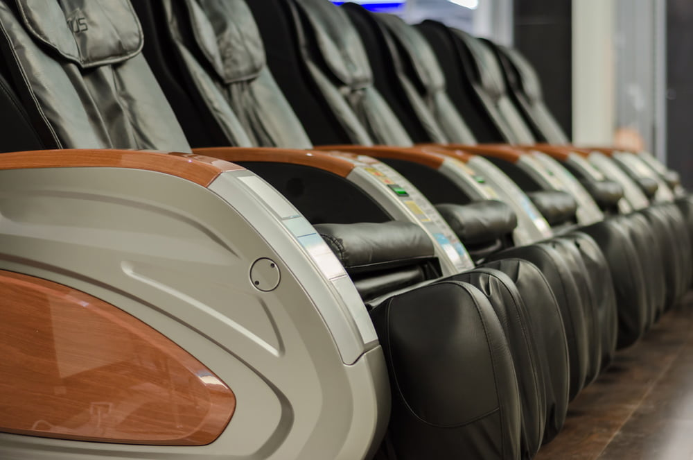 Comparing massage chair features