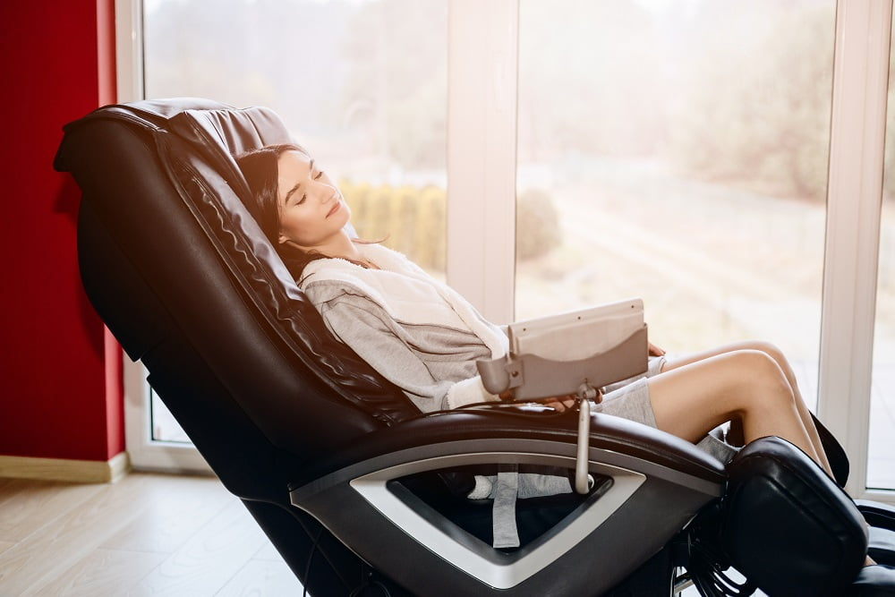 Massage chair moving