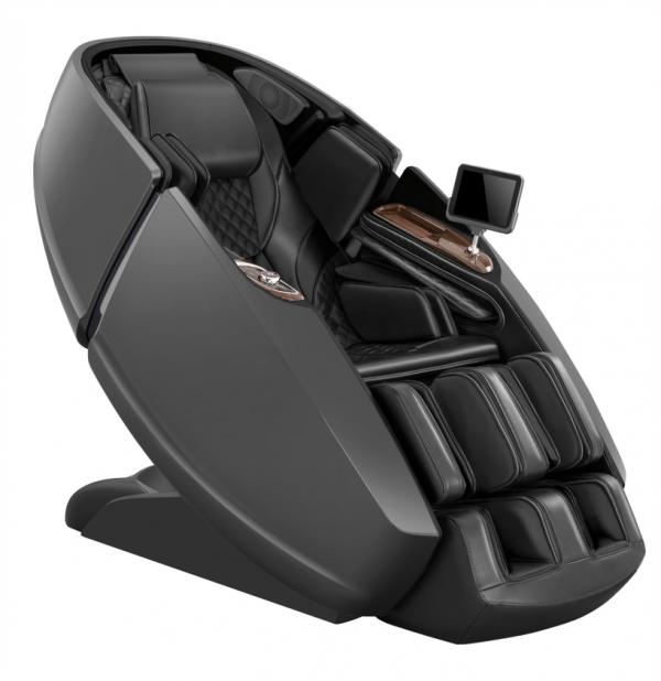 Daiwa Supreme Hybrid massage chair - gray/black hero