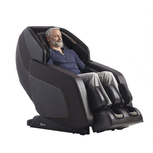 Daiwa Hubble massage chair - black hero male